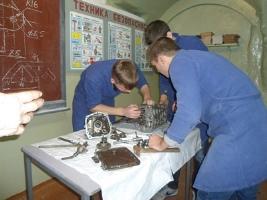 конкурс профессионального мастерства по специальности «Техническое обслуживание и ремонт автомобильного транспорта»