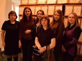 Урок - экскурсия в Таганрогский филиал ТФ ГКУ РО «ГАРО»