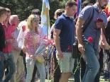 День России - возложение цветов